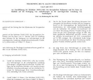 Verordnung (EU) Nr. 666/2013